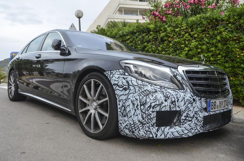 Mercedes S63 AMG Sedan Facelift