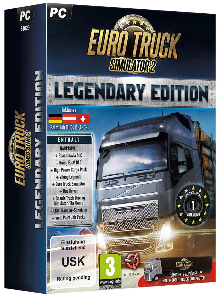Die Euro Truck Simulator 2: Legendary Limited Edition ist ab dem 20.07.2016 im deutschsprachigen Handel für 49,99 Euro (UVP) erhältlich.