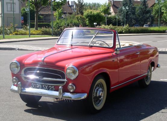 Peugeot 403 Cabriolet (1956–1961)