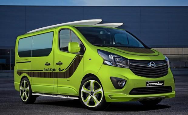 Opel Vivaro mit Tuningteilen von Irmscher