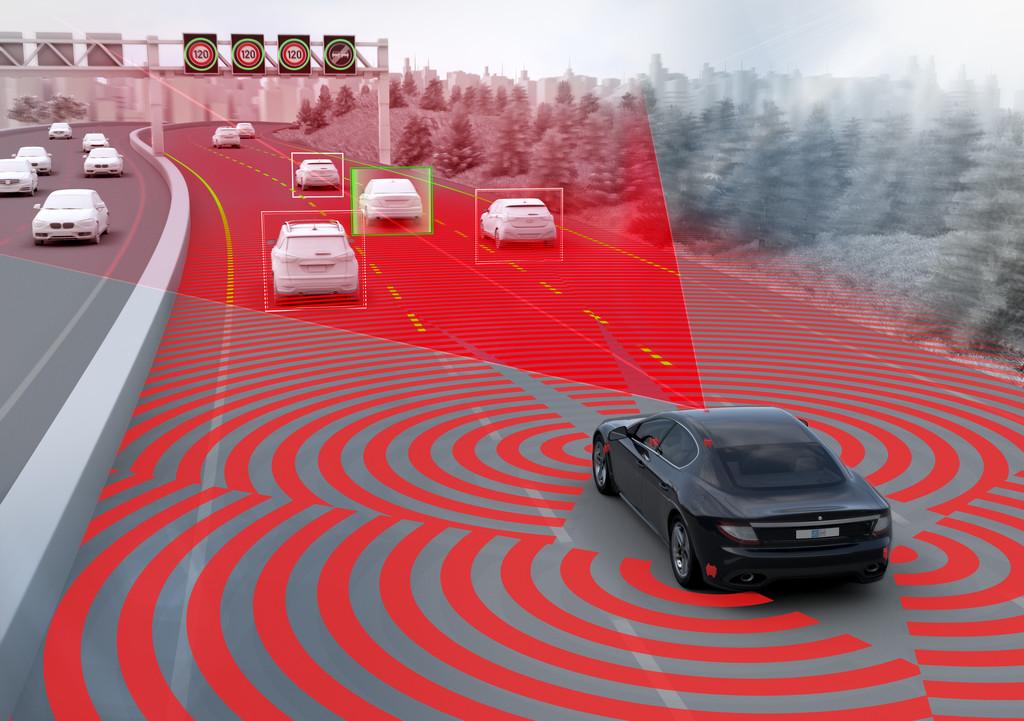 ZF TRW Multi Lane-Radar