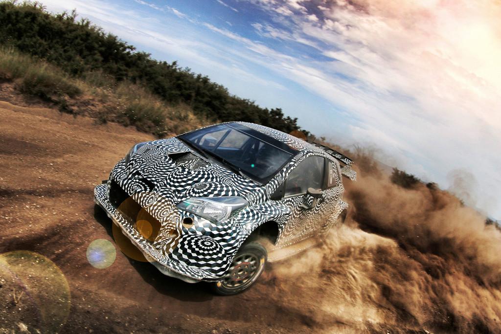 Rallye-Comback von Toyota