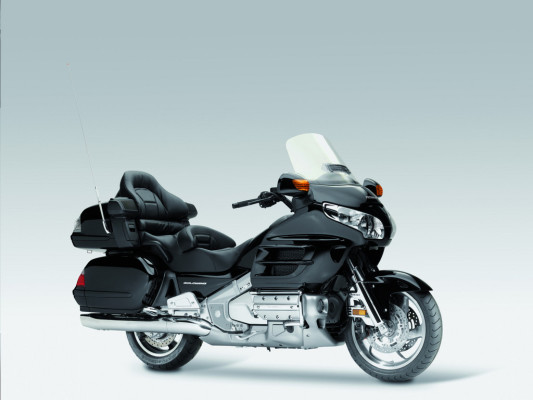Honda Gold Wing, seit 2006 mit Airbag erhältlich