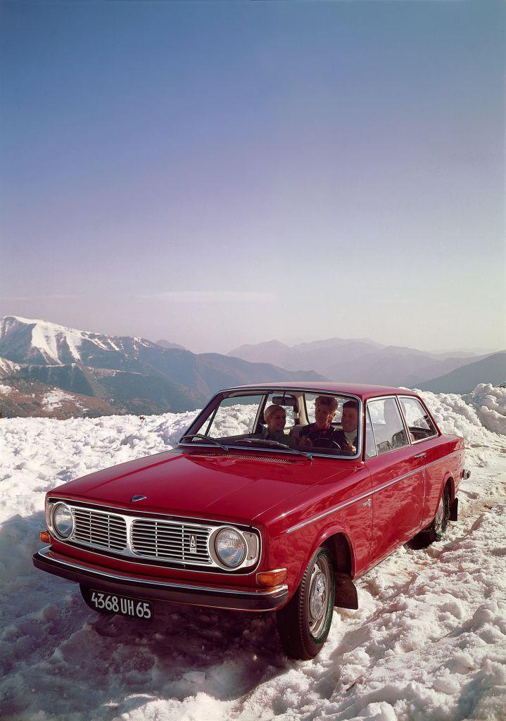 Volvo 142 von 1969.