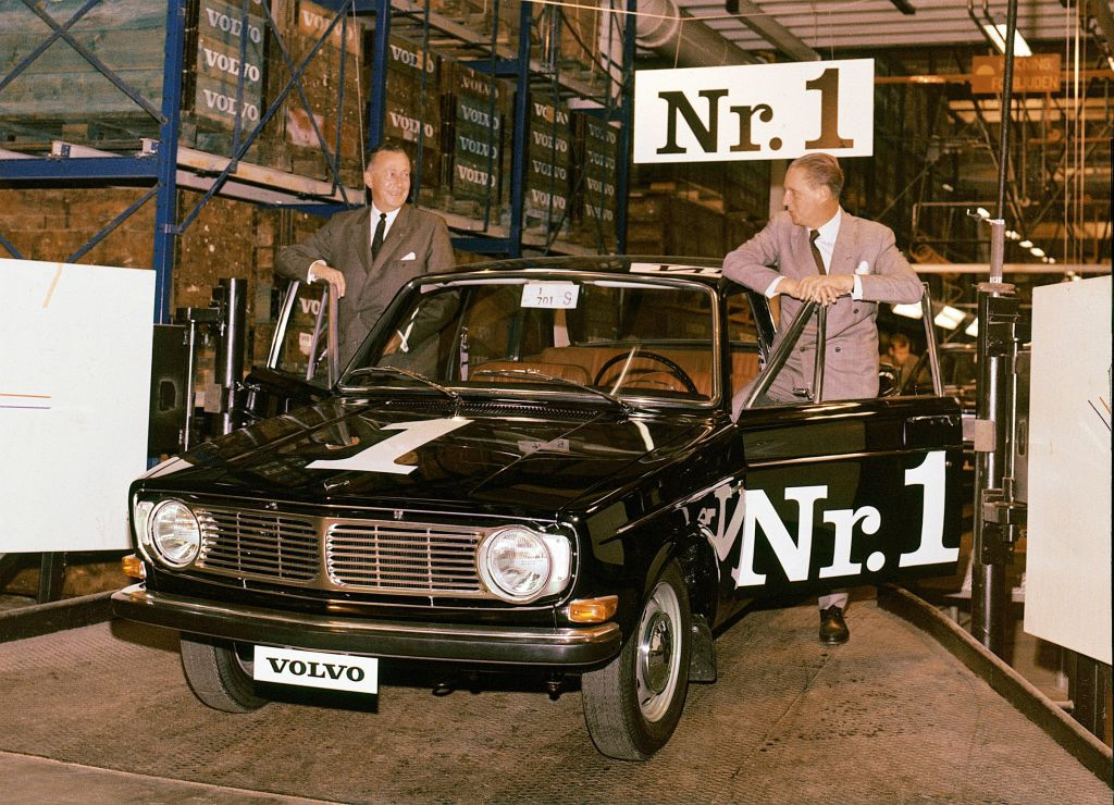 Volvo 144 Nummer 1 von 1966.