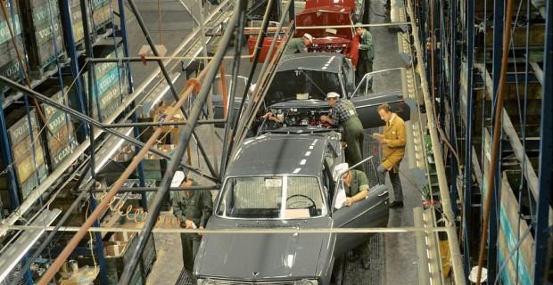 Volvo-Fertigung 1968
