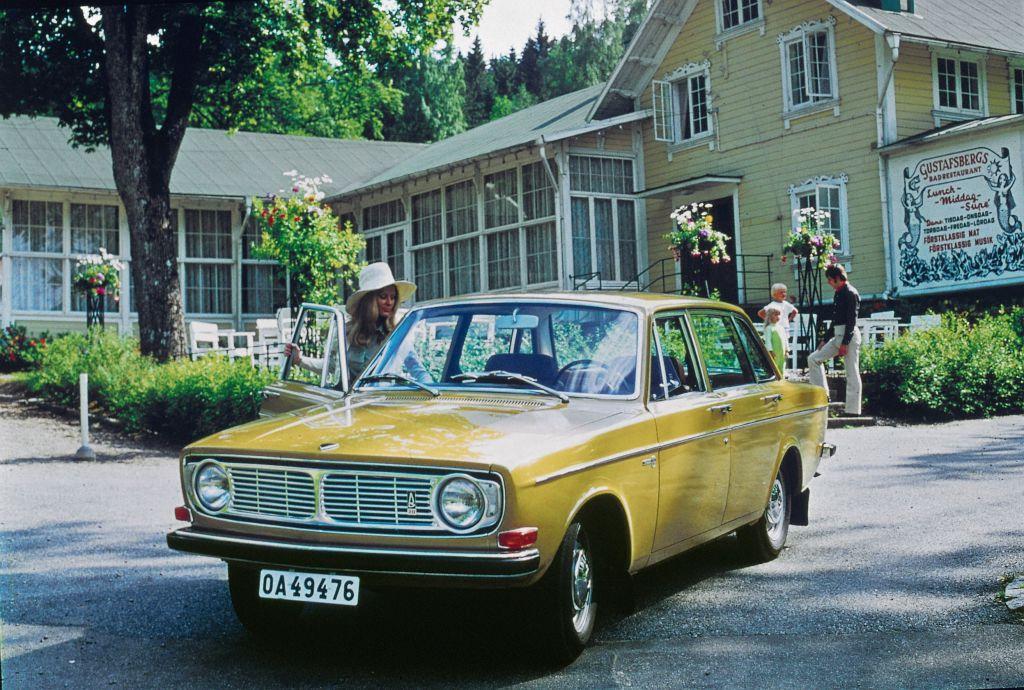 Volvo 144 von 1969.