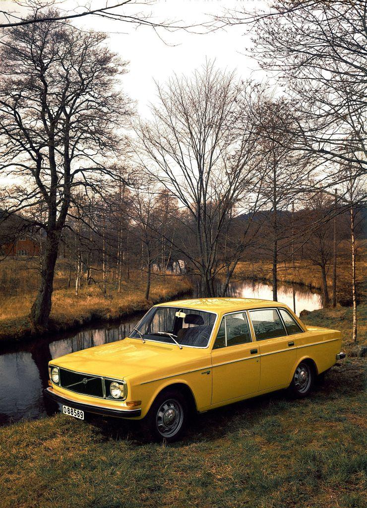 Volvo 144 von 1972.