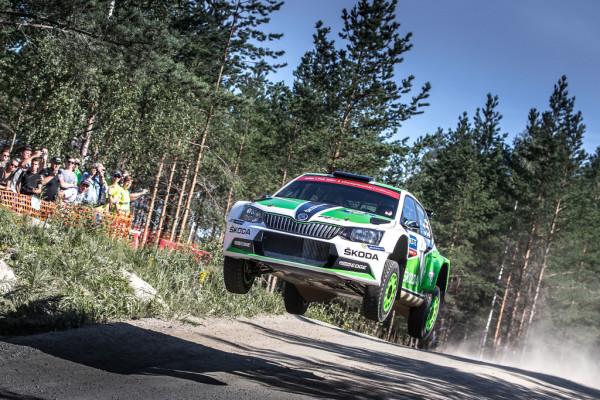 Skoda Fabia RS bei der WM-Rallye in Deutschland