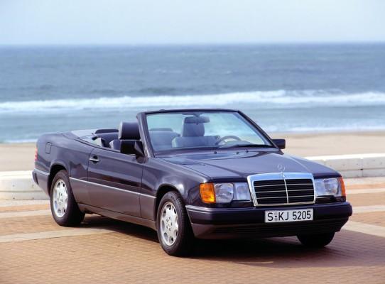 Mercedes-Benz Cabriolet der Baureihe 124.