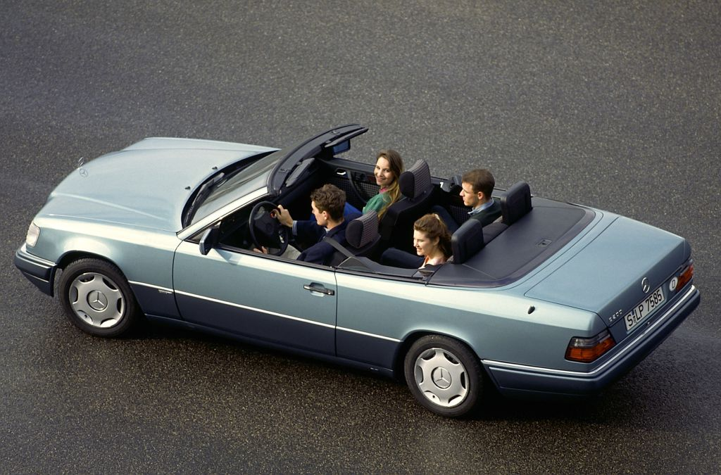 Mercedes-Benz Typ E 200 Cabriolet, Baureihe 124