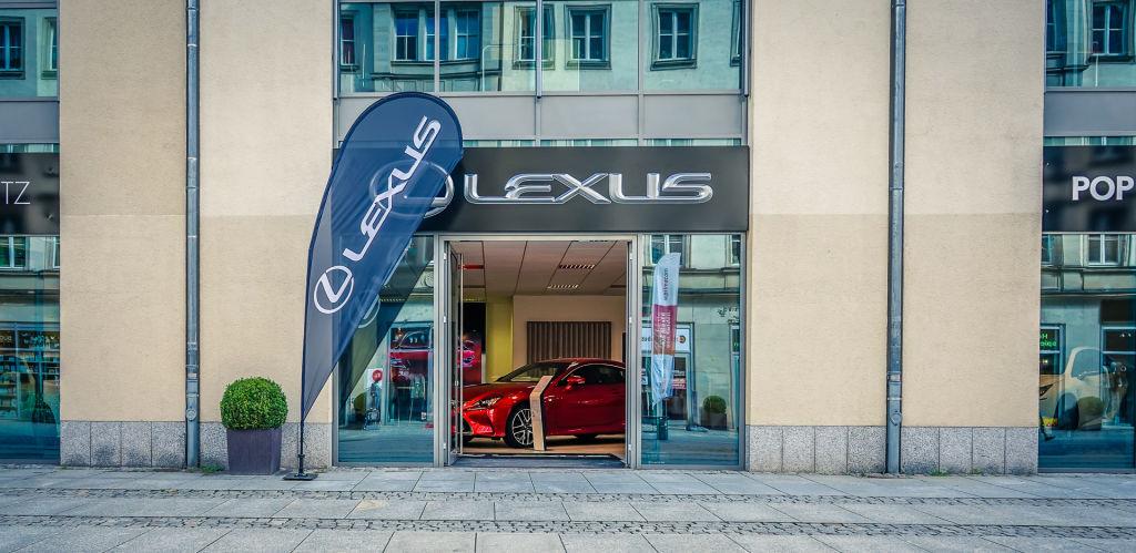 Lexus-Pop-up-Store in Chemnitz