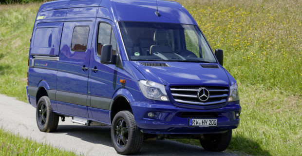 HYMERCAR Grand Canyon S auf Mercedes-Benz Sprinter Basis - Exterieur ; HYMERCAR Grand Canyon S on Mercedes-Benz Sprinter Base - Exterior;