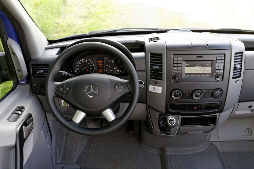 HYMERCAR Grand Canyon S auf Mercedes-Benz Sprinter Basis - Interieur ; HYMERCAR Grand Canyon S on Mercedes-Benz Sprinter Base - Interior;