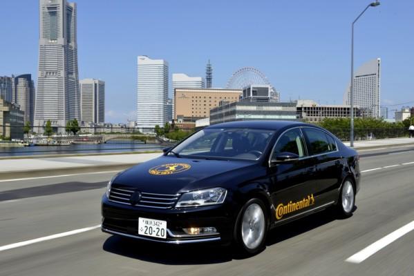 Continental testet automatisiertes Fahren auf öffentlichen Straßen in Japan. Continental testet automatisiertes Fahren auf öffentlichen Straßen in Japan