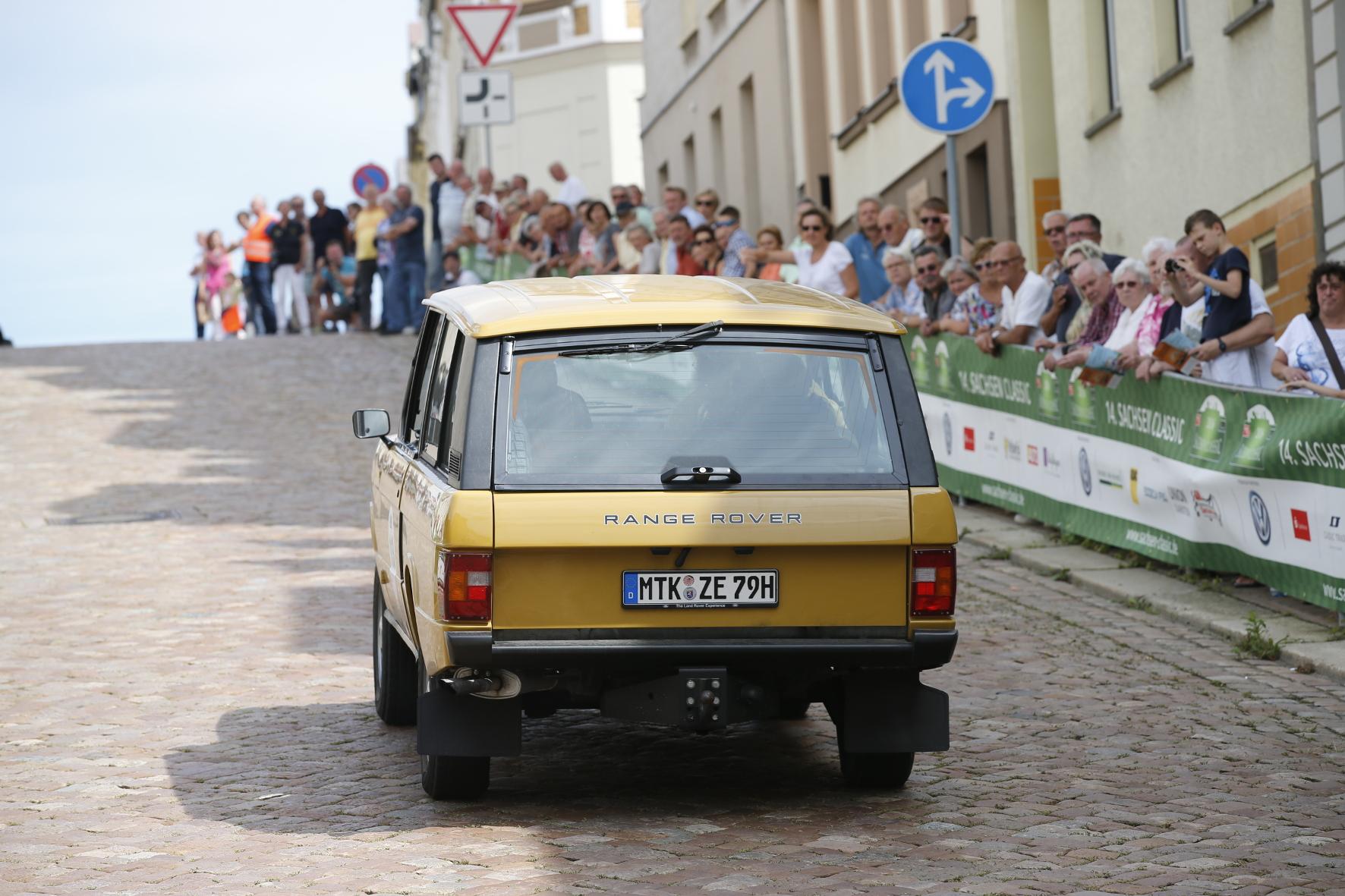 Museumsreif: Die kantige Form galt als hochentwickelt und ebnete dem Range Rover den Weg als Exponat in den Louvre.