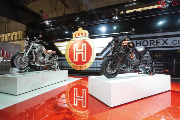 Die Traditionsmarke Horex soll nach zwischenzeitlicher Insolvenz und einer Übernahme 2015 in neuem Glanz erstrahlen.