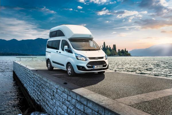 Jubilar: Der Ford Nugget wird 30 Jahre alt. Der 1986 als Konkurrent des VW California vorgestellte Campingbus kommt jetzt als Editionsmodell mit Zusatzausstattung auf den Markt.