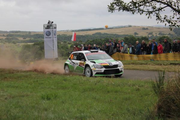 Rallye-Action an der Mosel: Bei der Deutschland Rallye tritt Skoda mit gleich 16 Fahrzeugen in der WRC2-Klasse an. Als Gaststarter nimmt die deutsche Nachwuchshoffnung Fabian Kreim (Foto) teil.
