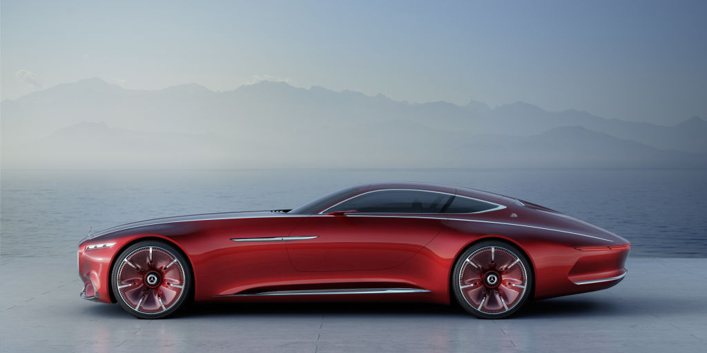 Vision Mercedes-Maybach 6: