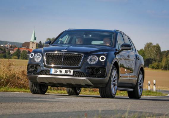 Erprobungsfahrzeug Bentley Bentayga Diesel.