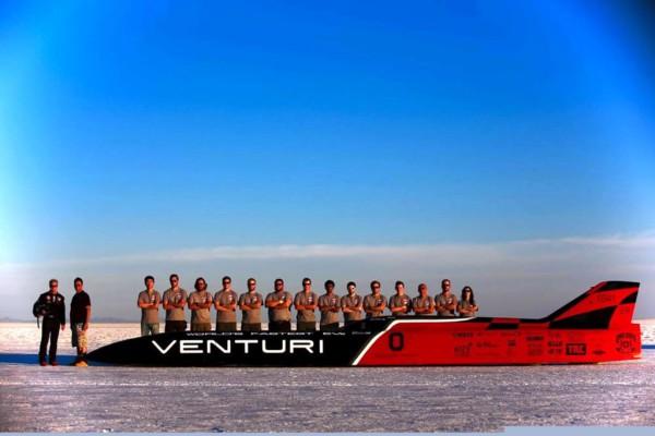 Das Team von Venturi und der Ohio State University in Columbus mit dem VBB-3