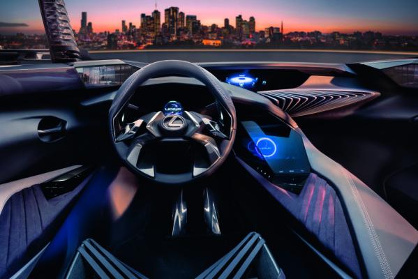 Innenraumkonzept des Lexus UX.