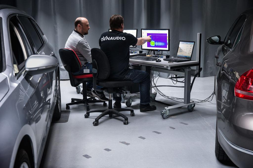 15 Jahre Dynaudio Soundsysteme bei Volkswagen.