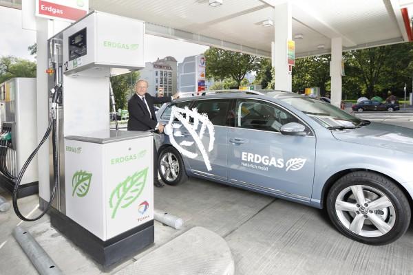 Der Unfall an einer Erdgas-Tankstelle Anfang September 2016 könnte sich kurzfristig negativ auf den Absatz von Erdgas-Autos auswirken.