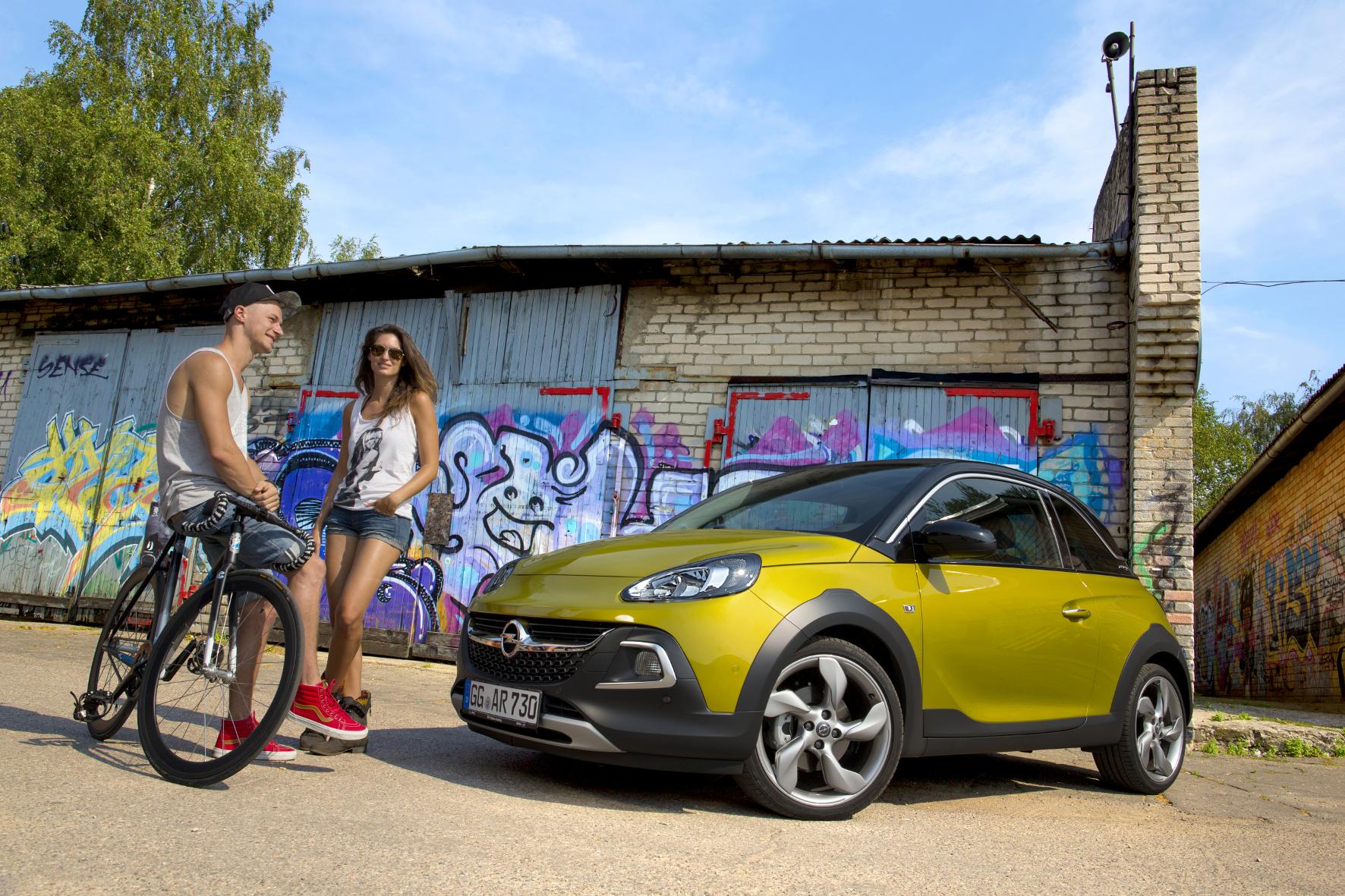 Opel macht Mode: Lifestyle-Autos für junge Leute
