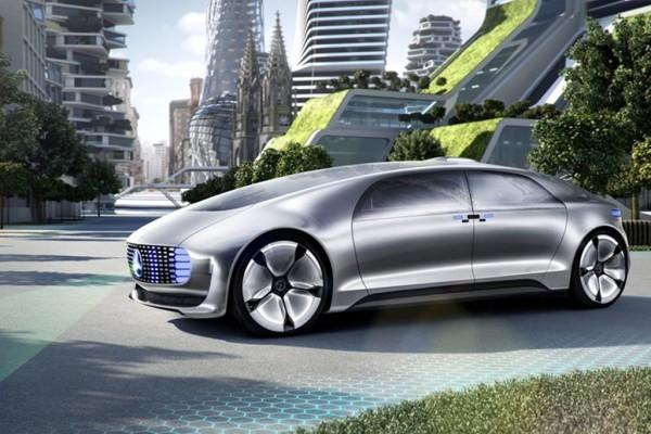 Autonomes Fahren: Studie von Mercedes-Benz.