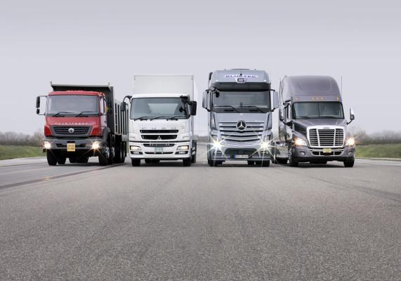 Lkw-Markenportfolio von Daimler Trucks