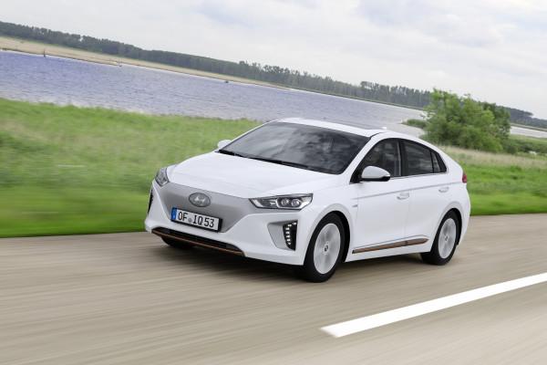 Begehrter Stromer: der Hyundai Ioniq Elektro.
