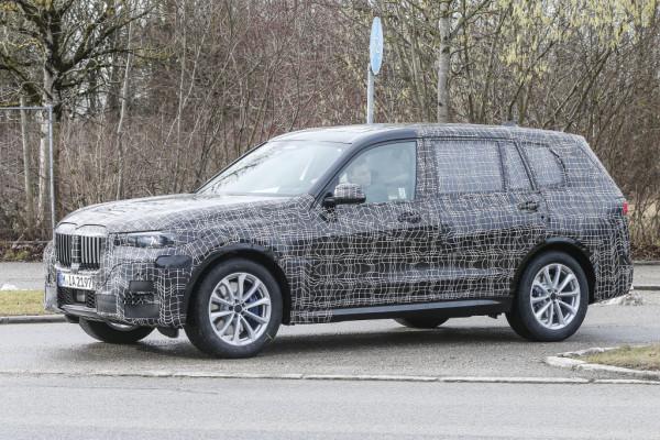 BMW X7 Erlkönig.