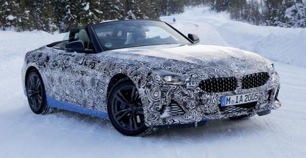 Erlkönig BMW Z4 Cabrio
