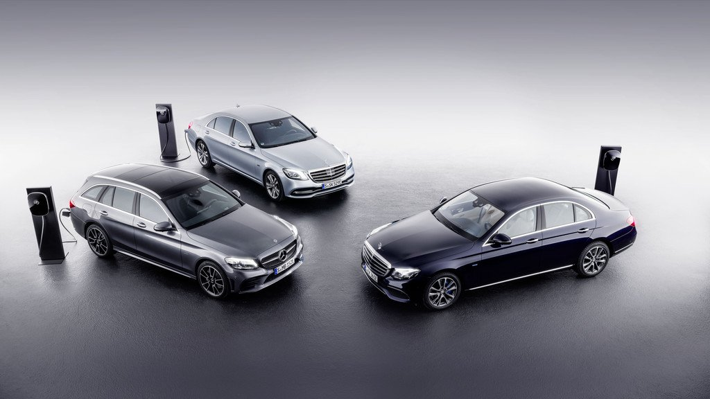 EQ-Power-Modelle von Mercedes-Benz.