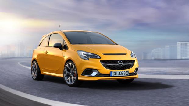 Opel Corsa GSI.