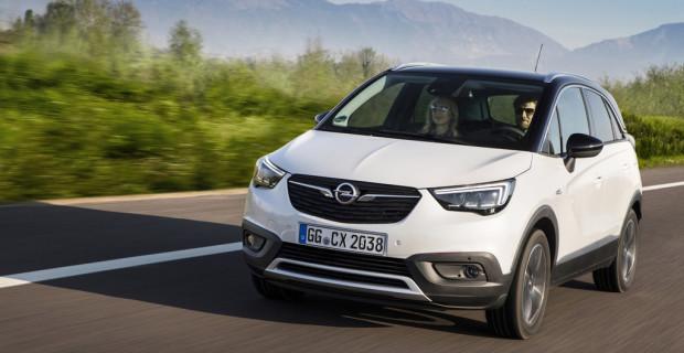 Der Opel Crossland X zieht an allen Anderen vorbei