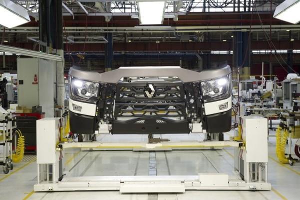Renault-Trucks - Produktion in Bourg-en-Bresse