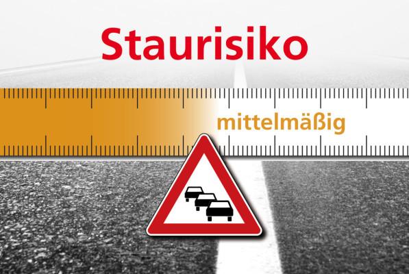 Staurisikoeinschätzung des ACE für das kommende Wochenende.