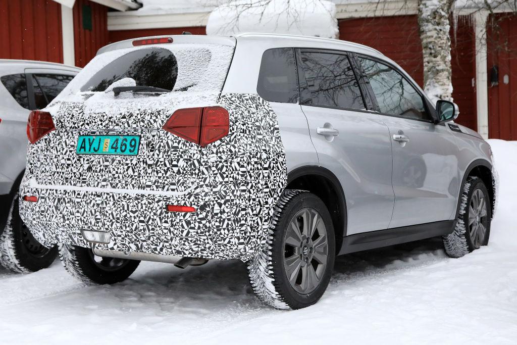 Suzuki Vitara Facelift.