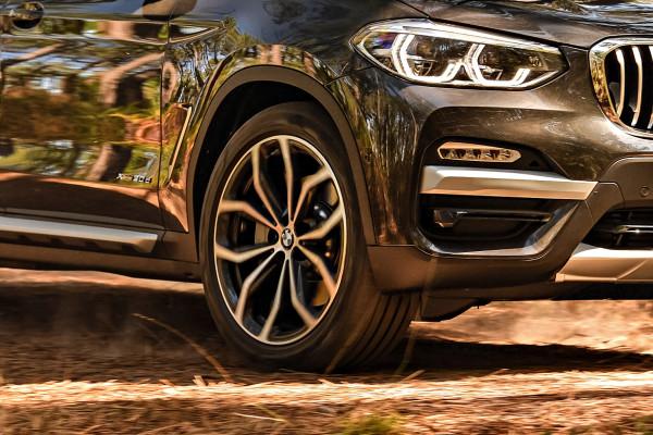 Die neuen BMW X3 werden mit Kumho-Reifen ausgeliefert.