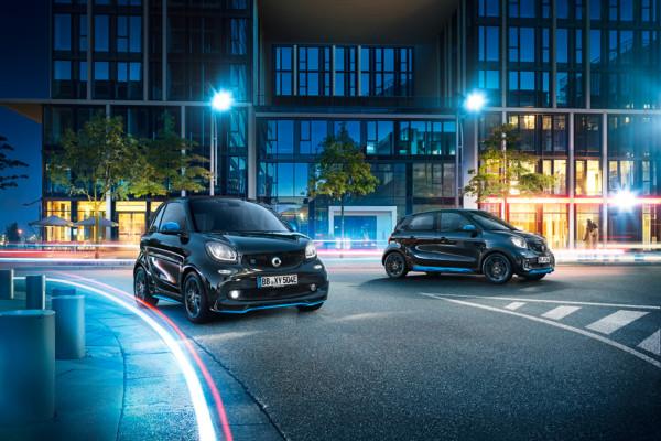 Smart will nun in Genf ein Zeichen setzen und bringt die ersten Serienfahrzeuge der Mercedes-Benz Cars EQ Familie mit.