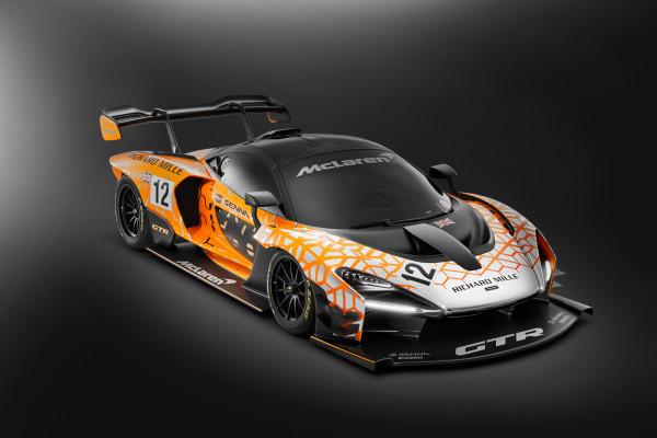 So ähnlich wird er aussehen: Der rund 1,3 Millionen Euro teure McLaren Senna GTR soll für die schnellsten Runden außerhalb der Formel 1 sorgen.