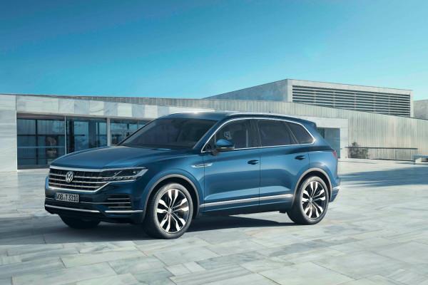 Eleganter, größer und intelligenter: Der neue VW Touareg wurde in Peking feierlich enthüllt.
