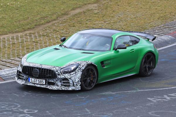 Mercedes-AMG GT-R Facelift.
