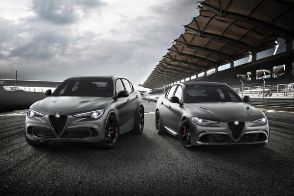 Alfa Romeo Stelvio Quadrifoglio N-Ring und Giulia Quadrifoglio N-Ring.