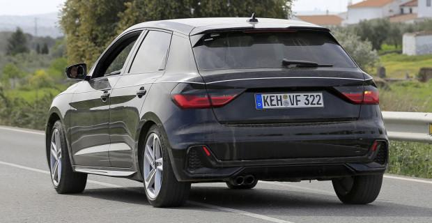 Audi A1 Erlkönig.
