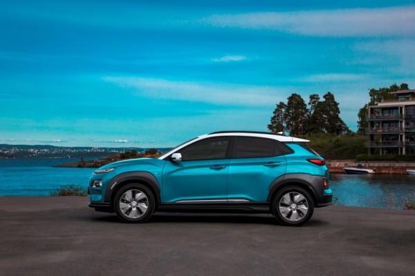Hyundai Kona Elektro.