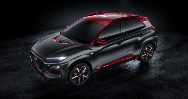 Hyundai Kona Iron Man Edition.